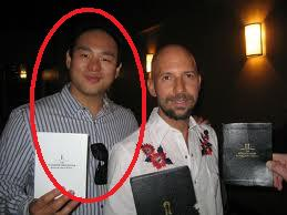 Johnny Wolf on your left, the guy on the right (Neil Strauss) is innocent