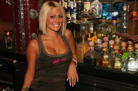 Today you'll see how to pick up a female bartender like this one